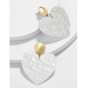 "Baublebar || ""Andree"" Heart Drop Earrings"
